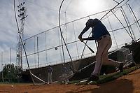 BASEBALL - EUROPEAN UNDER -21 CHAMPIONSHIP - PAMPELUNE (ESP) - 03 TO 07/09/2008 - PHOTO : CHRISTOPHE ELISE .BATTING CAGE ILLUSTRATION