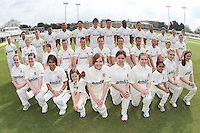Essex CCC 2012 team photo in County Championsip kit - Essex CCC Press Day at the Ford County Ground, Chelmsford, Essex - 03/04/12 - MANDATORY CREDIT: Gavin Ellis/TGSPHOTO - Self billing applies where appropriate - 0845 094 6026 - contact@tgsphoto.co.uk - NO UNPAID USE.