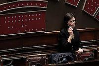 Mara Carfagna.Roma 25/01/2012 Voto alla Camera dei Deputati per la mozione unitaria sulla politica europea dell'Italia.Foto Insidefoto Serena Cremaschi
