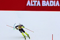 21st December 2020; Alta Badia Ski Resort, Dolomites, Italy; International Ski Federation World Cup Slalom Skiing; Dave Ryding (GBR) comes through the finish gate