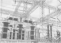 Photograph of Electrical Wires of the Boulder Dam Power Units;<br /> From the series Ansel Adams Photographs of National Parks and Monuments, compiled 1941 - 1942, documenting the period ca. 1933 - 1942.<br /> Date <br /> <br /> 1941