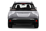 Straight rear view of 2021 Peugeot 2008 Allure 5 Door SUV Rear View  stock images