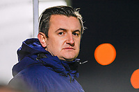 Head Coach Dave Mattheus  of AA Gent pictured during a female soccer game between  Racing Genk Ladies and AA Gent Ladies on the eleventh matchday of the 2020 - 2021 season of Belgian Scooore Womens Super League , friday 22 th of January 2021  in Genk , Belgium . PHOTO SPORTPIX.BE   SPP   DAVID CATRY