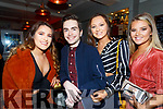 Enjoying the Lip Sync Battle in the Sea Lodge Waterville on Saturday night were l-r; Saidbh O'Sullivan, Conor O'Sullivan, Ciara Fogarty & Alanna O'Sullivan.