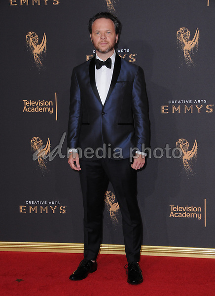 10 September  2017 - Los Angeles, California - Noah Hawley. 2017 Creative Arts Emmys - Arrivals held at Microsoft Theatre L.A. Live in Los Angeles. Photo Credit: Birdie Thompson/AdMedia