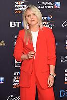 Amy Fuller<br /> arriving for the BT Sport Industry Awards 2018 at the Battersea Evolution, London<br /> <br /> ©Ash Knotek  D3399  26/04/2018