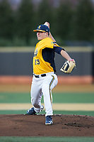 Kent State Golden Flashes starting pitcher Zach Willeman (23) in action against the Wake Forest Demon Deacons in game two of a double-header at David F. Couch Ballpark on March 4, 2017 in  Winston-Salem, North Carolina.  The Demon Deacons defeated the Golden Flashes 5-0.  (Brian Westerholt/Four Seam Images)