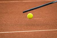 Amstelveen, Netherlands, 5  Juli, 2021, National Tennis Center, NTC, Amstelveen Womans Open, ball and racket<br /> <br /> Photo: Henk Koster/tennisimages.com