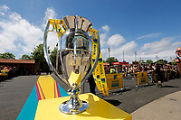 Photo: Richard Lane/Richard Lane Photography. Wasps v Exeter Chiefs. Aviva Premiership Final. 27/05/2017. Aviva Premiership Trophy.