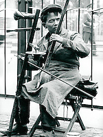 Musikant in China 1989