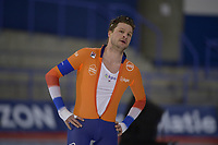SPEEDSKATING: Calgary, The Olympic Oval, 08-02-2020, ISU World Cup Speed Skating, 5000m Men Division B, Sven Kramer (NED) stopt na 3000m, ©foto Martin de Jong