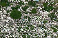 aerial photograph of Cemetario Particular cemetery, Veracruz, Mexico | fotografía aérea de Cemetario Particular, Veracruz, México.