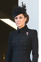 ***NO UK*** REF: MTX 193994 - Catherine, Duchess of Cambridge attends the annual Remembrance Sunday memorial at The Cenotaph in London, England.  NOVEMBER 10th 2019. Credit: Trevor Adams/Matrix/MediaPunch