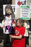 28.05.2012 - Protest against Tony Blair