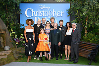 """Sophie Okenedo, director, Marc Forster, Hayley Atwell, Brontie Carmichael, Jim Cummings and Simon Farnaby, Ewan McGregor and Renee Wolf<br /> arriving for the """"Christopher Robin"""" premiere at the BFI Southbank, London<br /> <br /> ©Ash Knotek  D3416  05/08/2018"""