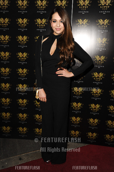 Zara Martin arriving for the Lipsy Fashion Awards,  at Dstrkt, London. 29/05/2013 Picture by: Steve Vas / Featureflash