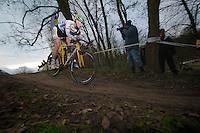 Nikki Harris (GBR)<br /> <br /> Vlaamse Druivencross Overijse 2013