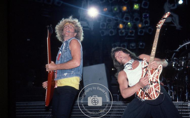 VAN HALEN Van Halen, Sammy Hagar , Van Halen