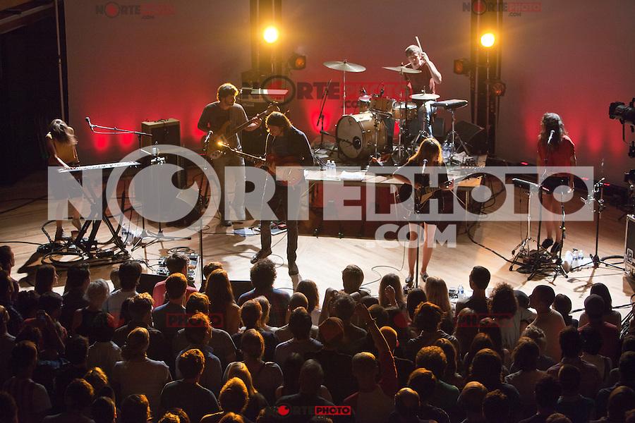 Dirty Projectors perform at The Crofoot Ballroom in Pontiac, Michigan. August 15, 2012. ©Joe Gall/MediaPunch Inc. /NortePhoto.com<br /> <br /> **CREDITO*OBLIGATORIO** *No*Venta*A*Terceros*<br /> *No*Sale*So*third* ***No*Se*Permite*Hacer*Archivo***No*Sale*So*third*