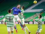 Celtic v St Johnstone…06.12.20   Celtic Park      SPFL<br />Chris Kane and Christopher Jullien<br />Picture by Graeme Hart.<br />Copyright Perthshire Picture Agency<br />Tel: 01738 623350  Mobile: 07990 594431