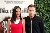 Ewan McGregor and Jennifer Connelly<br /> Roma 03-10-2016. Photocall del film American Pastoral<br /> Rome 3rd October 2016. American Pastoral Photocall<br /> Foto Samantha Zucchi Insidefoto