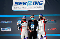 #54 MLT Motorsports Ligier JS P320, P3-1: Dakota Dickerson, Josh Sarchet, Michael Thompson <br /> Victory Lane