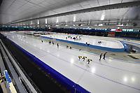 SCHAATSEN: HEERENVEEN, 31-07-2020, IJsstadion Thialf, overzicht ijsbaan, ©foto Martin de Jong