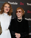 """Sandra Bernhard and Carol Burnett attends the Broadway Opening Night of """"Tootsie"""" at The Marquis Theatre on April 22, 2019  in New York City."""