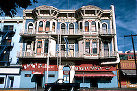 "San Diego: Grand (Horton) Hotel, 332 F Street. Comstock and Trotsche, 1888. ""Baroque Revival"" (Photo '81)"