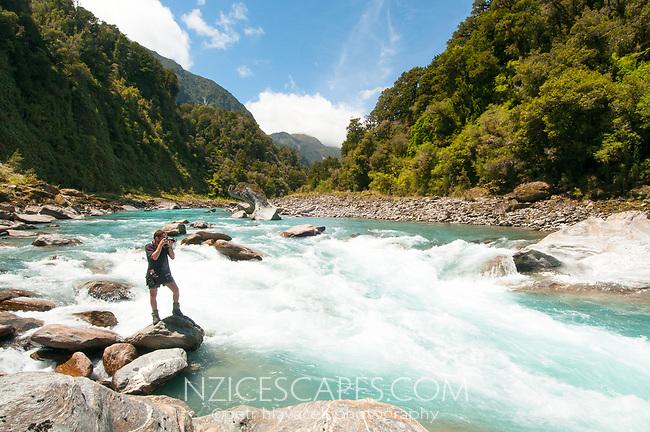 Photographer Petr Hlavacek, West Coast, New Zealand