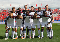17 September 2011:The starting eleven for the Colorado Rapids during a game between the Colorado Rapids and Toronto FC at BMO Field in Toronto.