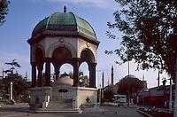 Türkei, deutscher Brunnen in Istanbul