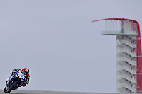 January 23, 2014:<br /> <br /> Team Caterham Racing Moto2 rider Josh Herrin of Glendale California familiarize himself with the track during practice session at Circuit of the Americas in Austin, TX.
