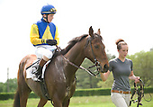 #55. Apprentice Connor Hankin stayed on Battle Op after a jolting mistake in the Maryland Hunt Cup to finish second. Weeks later, Hankin won his first race, taking the amateur/apprentice timber at Willowdale aboard Eye Said Scat Cat (pictured at Winterthur) for trainer Lilli Kurtinecz.