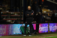 4th May 2021; Kenilworth Road, Luton, Bedfordshire, England; English Football League Championship Football, Luton Town versus Rotherham United; A dejected Rotherham United Manager Paul Warne