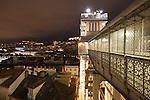 Elevador de Carmo (auch Santa Justa) in Lissabon, Portugal