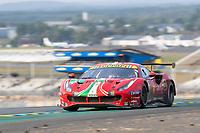 #51 AF Corse Ferrari 488 GTE EVO LMGTE Pro, Alessandro Pier Guidi, James Calado, Come Ledogar, 24 Hours of Le Mans , Race, Circuit des 24 Heures, Le Mans, Pays da Loire, France
