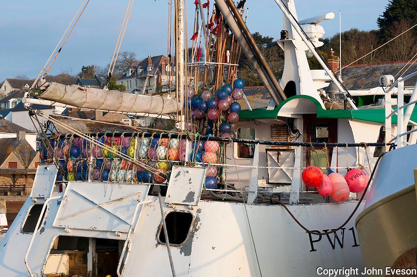 Fishing boats at Padstow, Cornwall