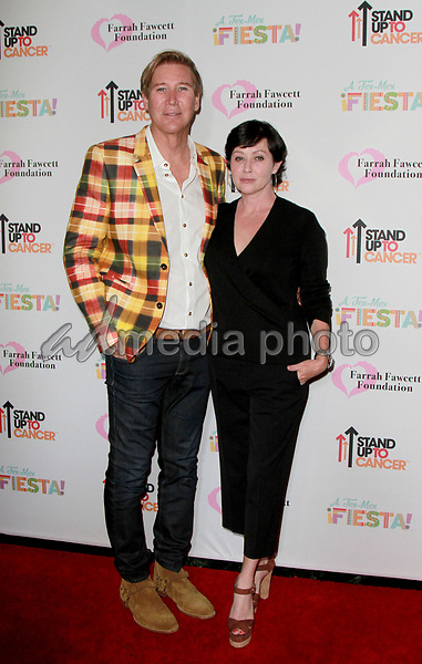 9 September 2017 -  Shannen Doherty, Lawrence D. Piro attend Farrah Fawcett Foundation's 'Tex-Mex Fiesta' event honoring Stand Up To Cancer at the Wallis Annenberg Center for the Performing Arts . Photo Credit: Theresa Bouche/AdMedia