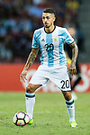 Manuel Lanzini of Argentina in action during the International Test match between Argentina and Singapore at National Stadium on June 13, 2017 in Singapore. Photo by Marcio Rodrigo Machado / Power Sport Images