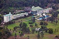 aerial photograph of the Gamboa Rainforest Resort, Soberania National Park near the Panama Canal, Panama
