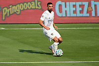 LOS ANGELES, CA - AUGUST 22: Sebastian Lletget #17 of the Los Angeles Galaxy moves with the ball during a game between Los Angeles Galaxy and Los Angeles FC at Banc of California Stadium on August 22, 2020 in Los Angeles, California.