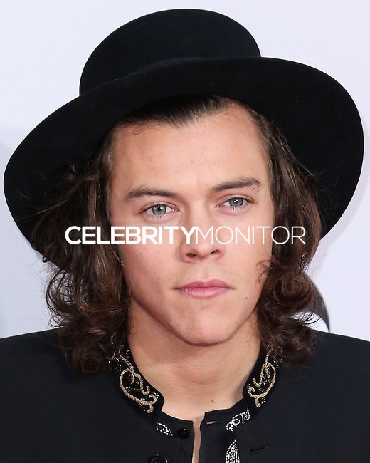 LOS ANGELES, CA, USA - NOVEMBER 23: Harry Styles, One Direction arrives at the 2014 American Music Awards held at Nokia Theatre L.A. Live on November 23, 2014 in Los Angeles, California, United States. (Photo by Xavier Collin/Celebrity Monitor)