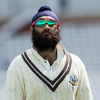 Amar Virdi of Surrey CCC during Surrey CCC vs Hampshire CCC, LV Insurance County Championship Group 2 Cricket at the Kia Oval on 1st May 2021