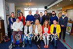 Fenit Town Hall Committee gave a video presentation to the members of Kerry County Council and the Tralee Municipal District at theTralee Bay Sailing Club in Fenit on Friday. Seated  l to r: Councillor Terry O'Brien, Gene Foley (Tralee Municipal District), Catherine Carthy (Fenit Town Hall), Caroline Cockley (Fenit Water Committee) and Councillor Deirdre Ferris. Back l to r: Mary O'Brien Brown (Fenit Town Hall), Eileen O'Connell (Fenit Town Hall), Tadgh Murphy (Fenit Town Hall), Denis O'Shea (Tralee Oyster Fisheries), Kieran Dalton (Fenit Town Hall), Michael Pierce (Fenit Town Hall Signage Group), David O'Connor (Tralee Municipal District) and Michael Scannell (Kerry County Council/ Tralee Municipal District).