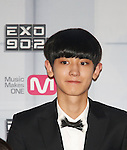 Tao(EXO), Aug 11, 2014 : Tao of South Korean-Chinese K-Pop idol boy band EXO, attends a presentation for their new show on Mnet, 'EXO 90:2014', at CJ E&M Center in Seoul, South Korea.  (Photo by Lee Jae-Won/AFLO) (SOUTH KOREA)