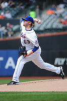 New York Mets pitcher Chris Schwinden #63 during a game against the Washington Nationals at Citi Field on September 15, 2011 in Queens, NY.  Nationals defeated Mets11-1.  Tomasso DeRosa/Four Seam Images