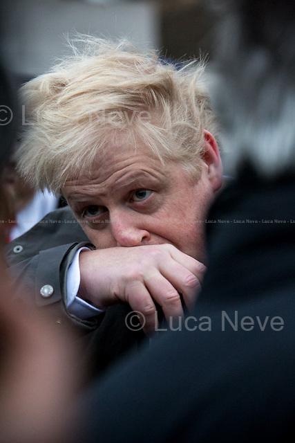 Boris Johnson, Prime Minister of the United Kingdom (Photo 2015).