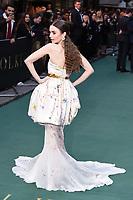 "Lily Collins<br /> arriving for the ""TOLKIEN"" premiere at the Curzon Mayfair, London<br /> <br /> ©Ash Knotek  D3499  29/04/2019"