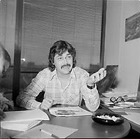 Le realisateur de television Richard Martin<br /> (date inconnue, avant 1984)<br /> <br /> Photo : Agence Quebec Presse - Roland Lachance